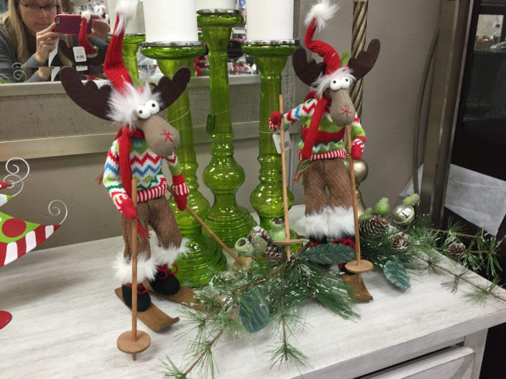 Fun holiday decor