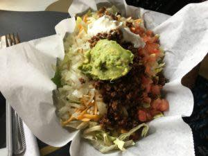 Bev's Taco Salad without Chips