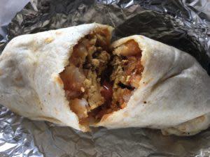 Kay's Knucklehead Burrito