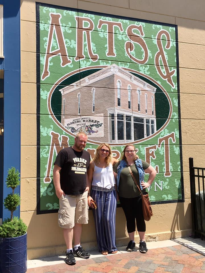 Embracing the arts, Downtown Lafayette!