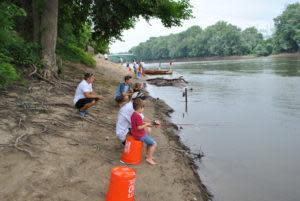 Fishing at Riverfest!