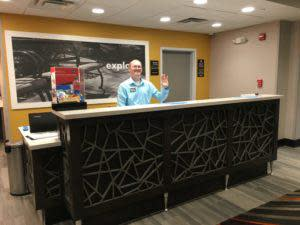 West Lafayette's newest hotel, Hampton Inn