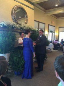 Wedding at Rush Pavillion