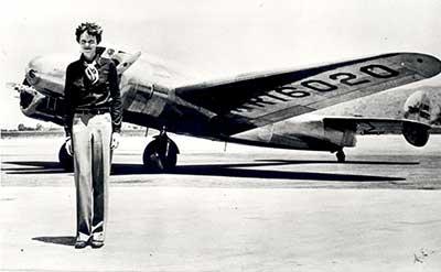 earhartwithplane