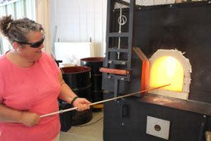 Inspired Fire Sharon Making FLower