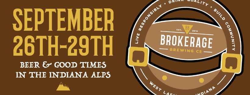 Oktoberfest at Brokerage Brewery Sept. 26-29