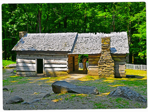 See great historical buildings like this on the Roaring Fork Motor Nature Trail.