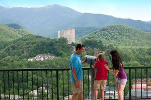 Family Taking in the Views of Gatlinburg