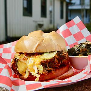 """Delauder's """"Holy Bologne Sandwich"""" in Gatlinburg, TN"""