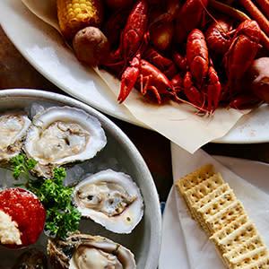 Crawdaddy's Restaurant & Oyster Bar dishes in Gatlinburg