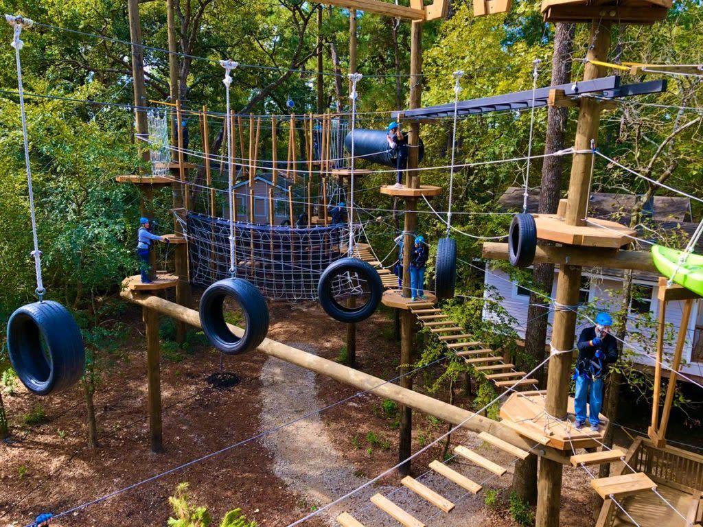 Texas TreeVentures Aerial Adventure Course