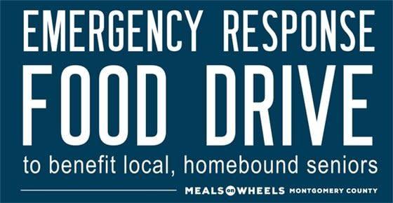 Meals on Wheels Emergency Food Drive