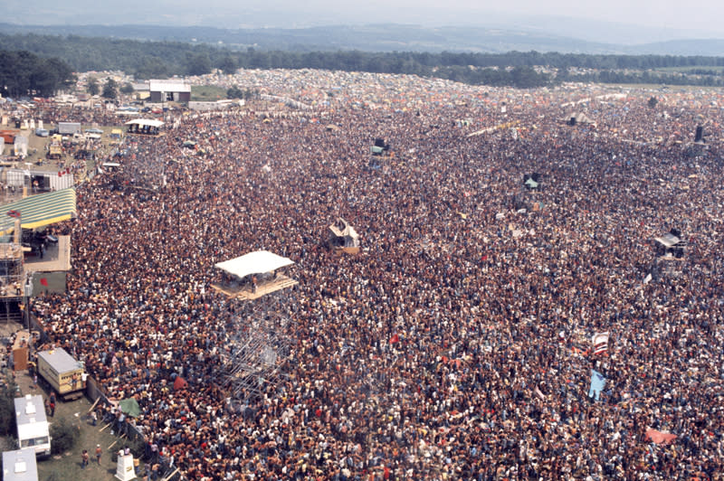 view of crowd at summer jam