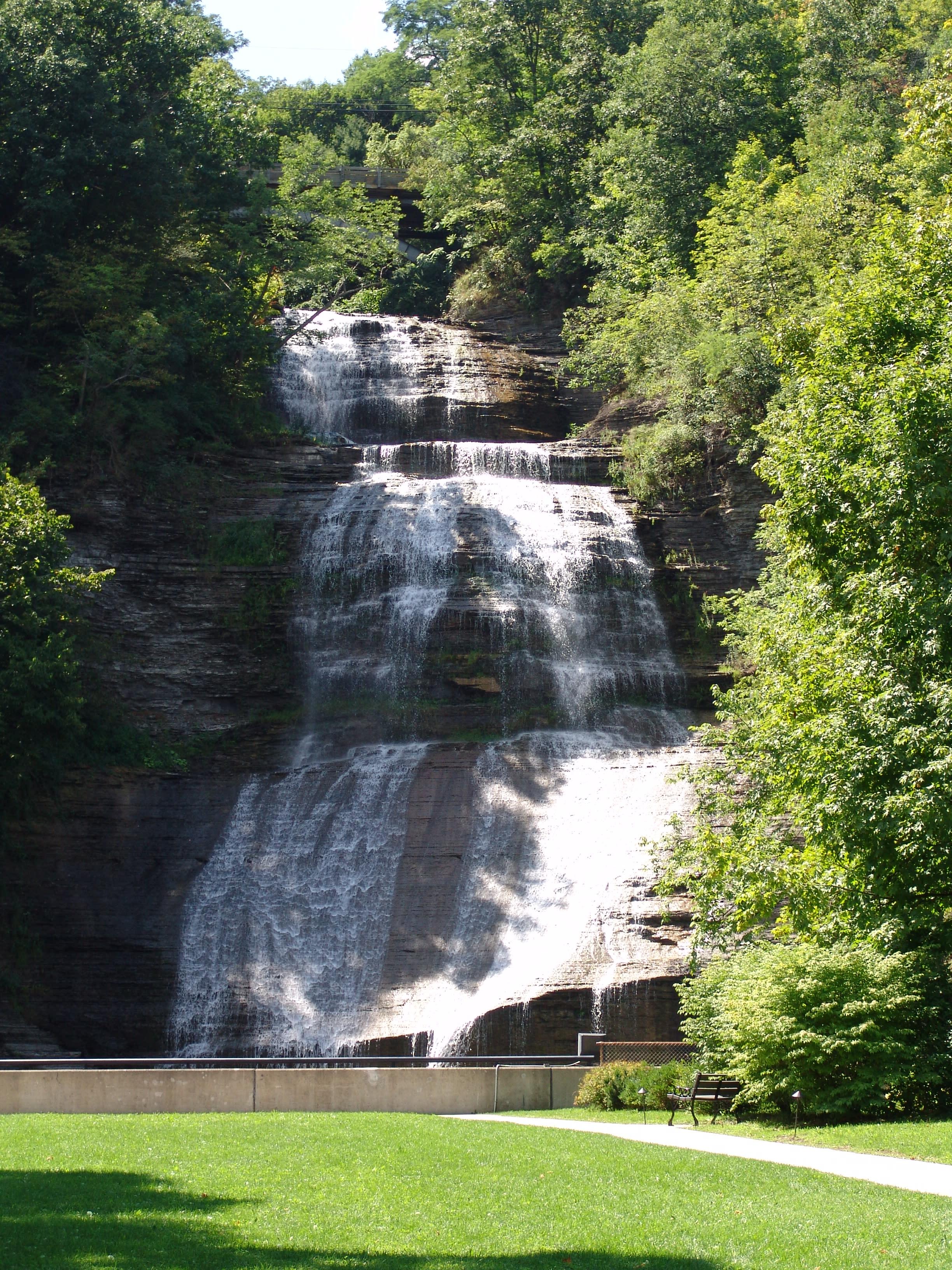 Shequaga Falls in Montour Falls