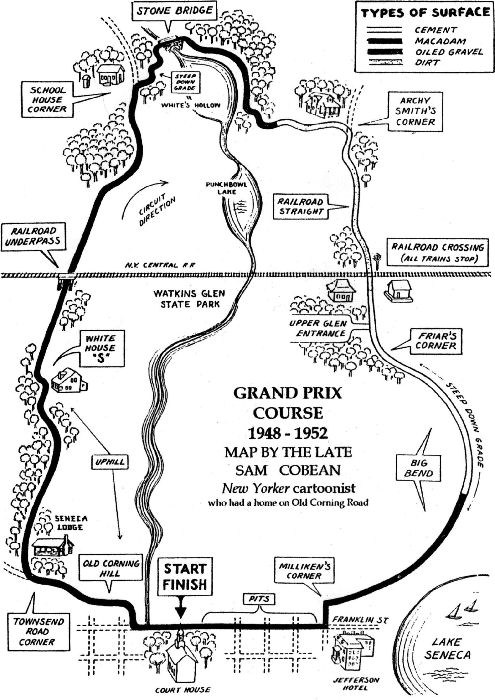Watkins Glen Grand Prix Course