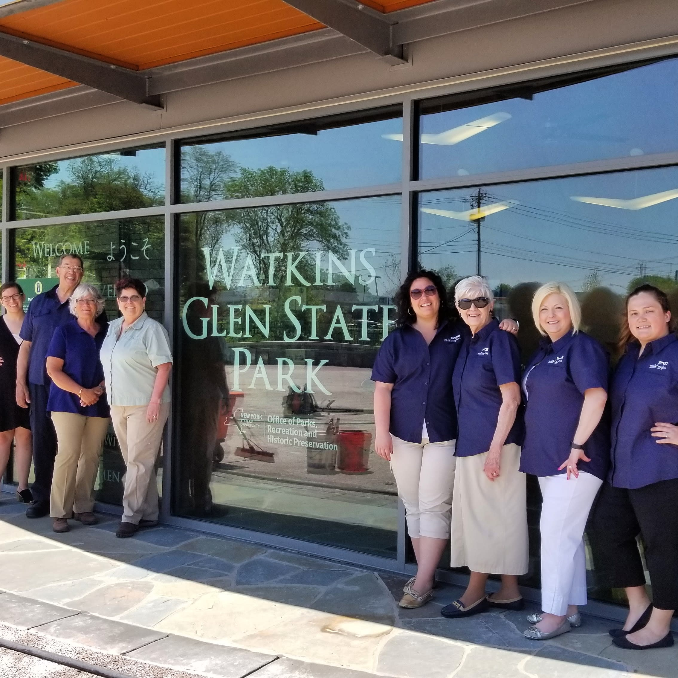 Visitor Center Staff May 2018