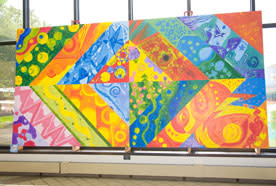 Mural created by ArtQuest students