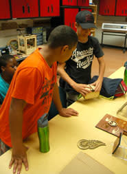 YouthQuest students participate in summer activities