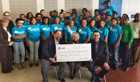 TeenQuest received AT&T grant
