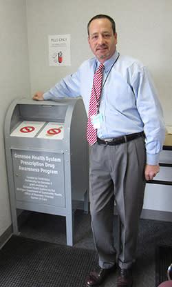 Baker College of Flint Now Site of DEA-Designated Prescription Drug Collection Box