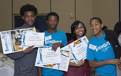 TeenQuest graduates - Flint & Genesee Chamber of Commerce TeenQuest Pre-Employment Training Program