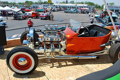 Baker College of Flint Car and Motorcycle Show has something for everyone