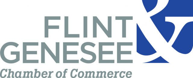 Flint & Genesee Chamber of Commerce logo - stacked