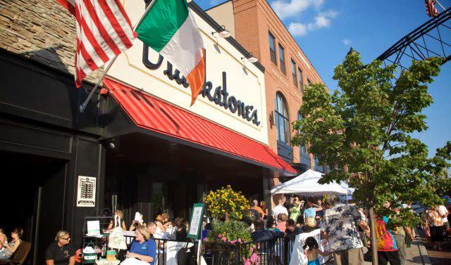 Blackstone's Pub and Grill, downtown Flint, Michigan
