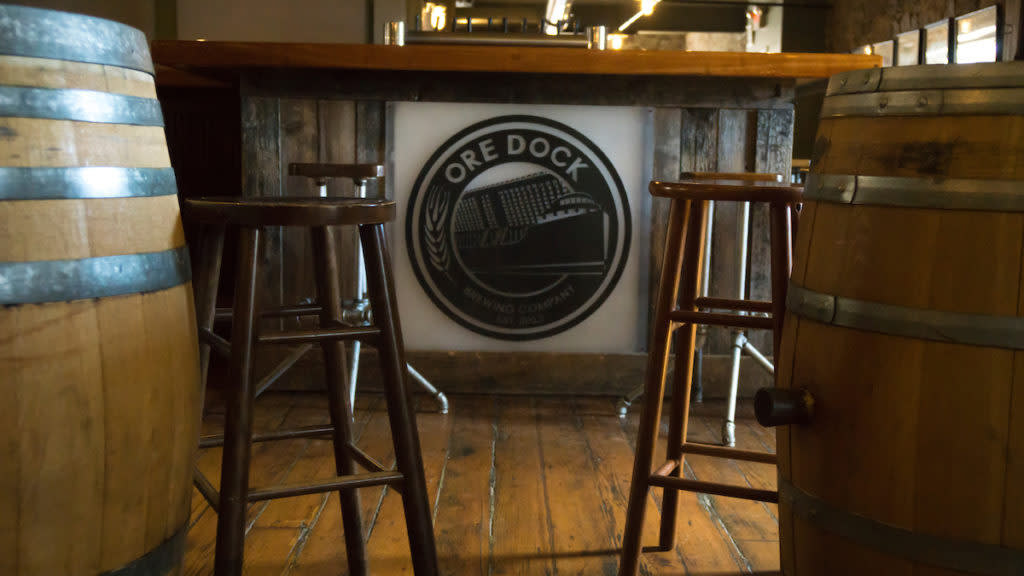 Ore Dock Brewing Company, Marquette, Michigan