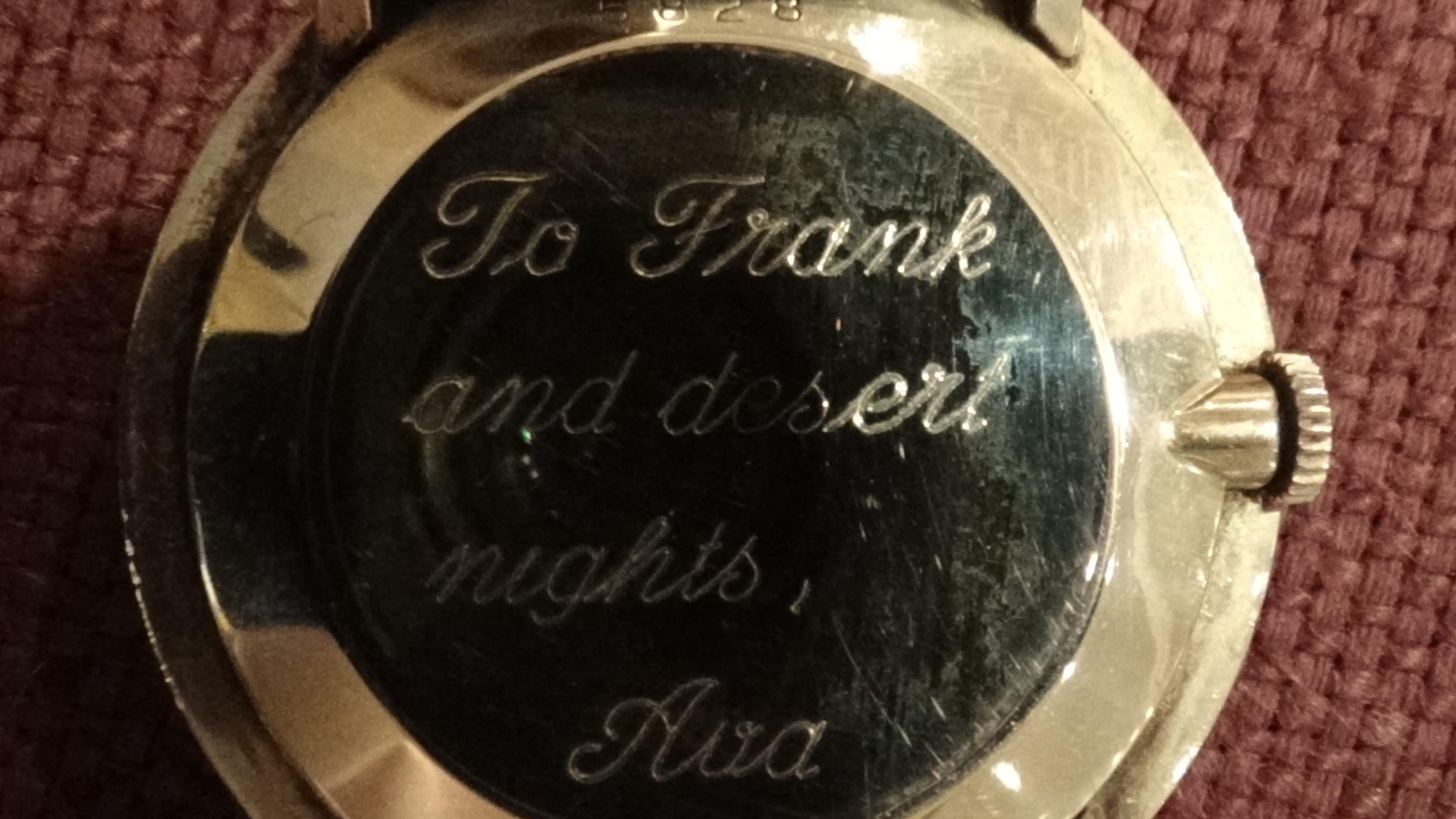 Frank Sinatra watch-2