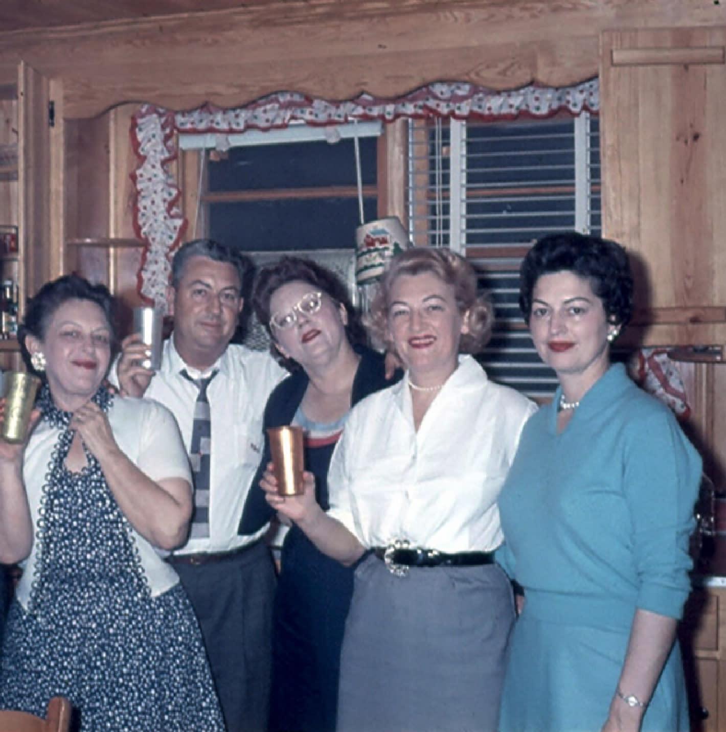 Elsie Mae G Creech, Jack Gardner, Inez G Grimes,Beatrice (Bappy) Gardner, Myra G Pearce