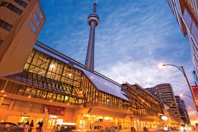 convention centre exterior