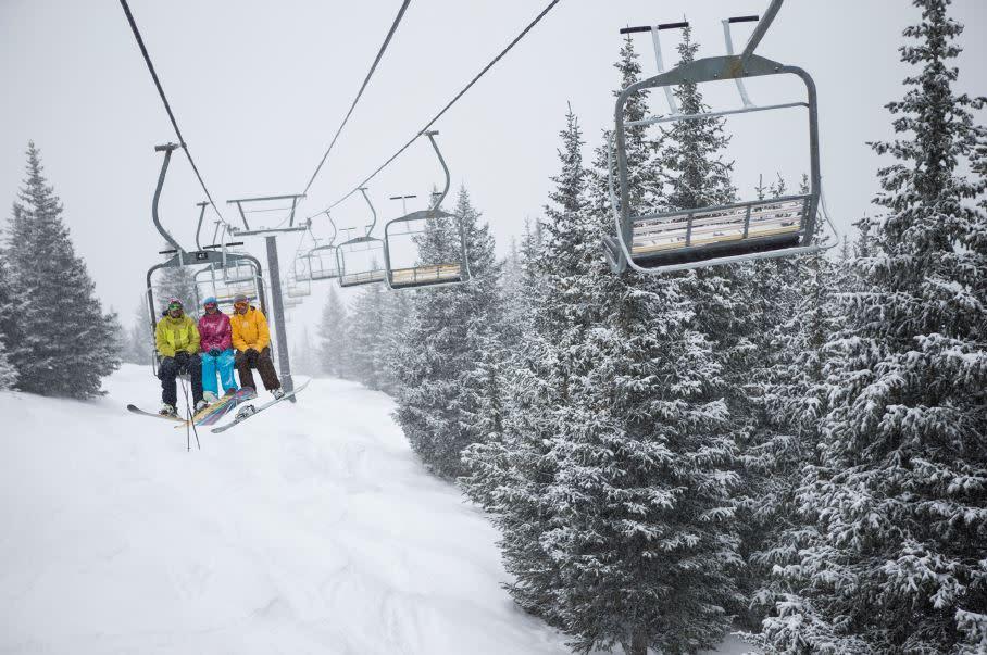 Winter at Ski Santa Fe