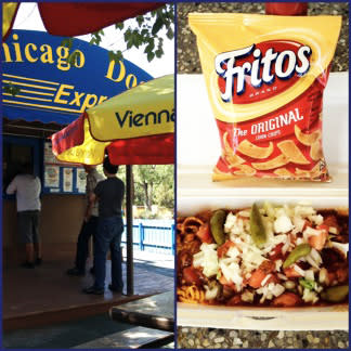 Southwest foodies love Midwest food traditions, but a Frito Pie from Chicago Dog Express says you are a Santa Fe local.