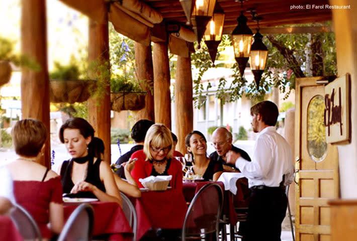 Take a trip to Spain via Santa Fe with tapas at El Farol.