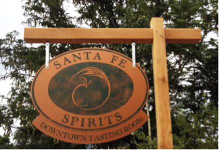 Get into a film-festive spirit at Santa Fe Spirits new downtown tasting room.