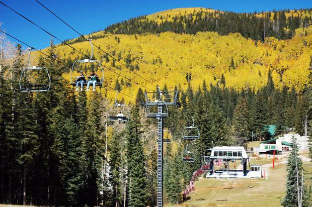 Lift your spirits with fall highlights at the Santa Fe Ski Basin.