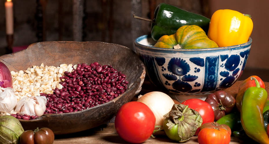 The Museum of International Folk Art's exhibition on New World Cuisine is a feast for the eyes.