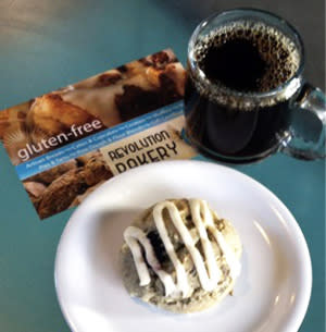 How sweet it is to find 100% gluten-free desserts and breads at Revolution Bakery.