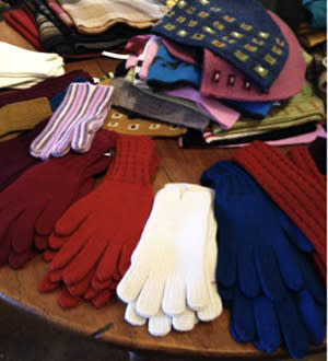 Warm alpaca wool comes in wonderful colors at Chapare …