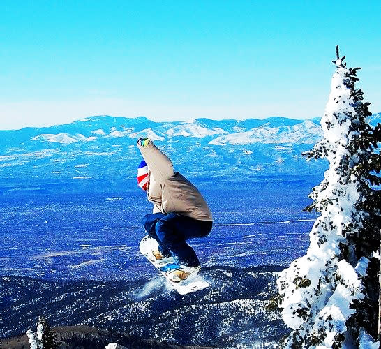 Get up, up, and away at Ski Santa Fe! (Photo by Kevin Rouff, winner of 2008 Ski Santa Fe photo contest)