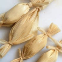 T is for tamale, the treat we love to eat! (Photo courtesy of Santa Fe School of Cooking)