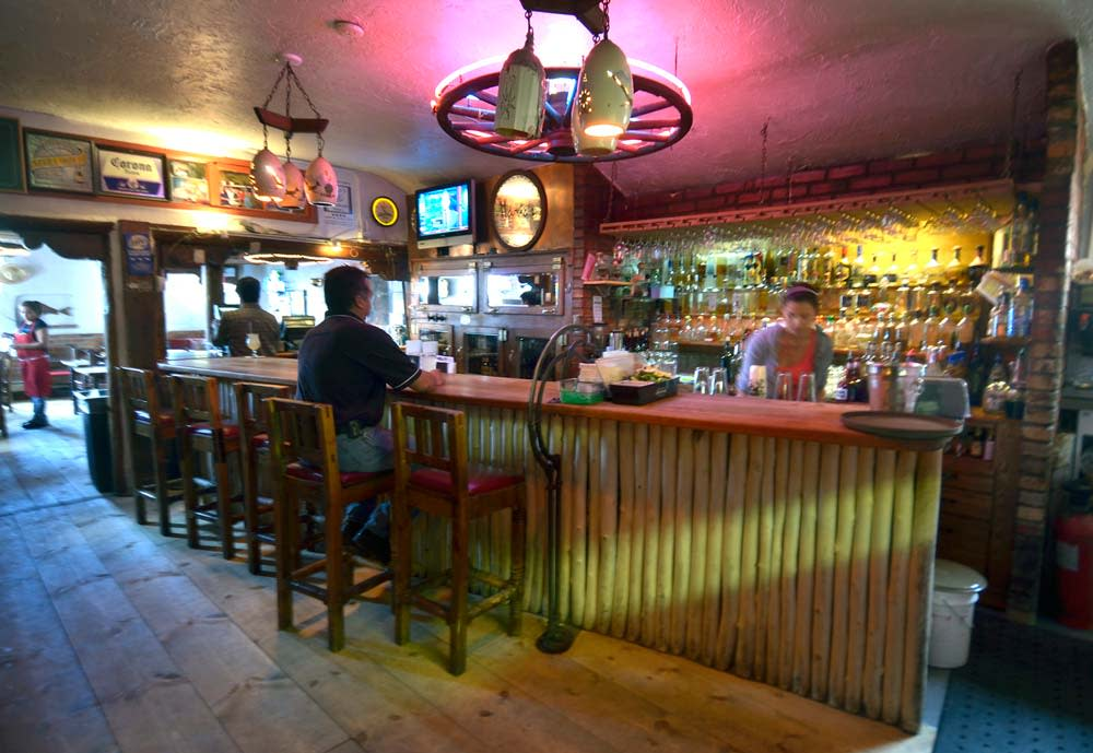 Enjoy Santa Fe's winter spirit and hot tamales at Maria's New Mexican Kitchen. Photo Courtesy ABQ Journal