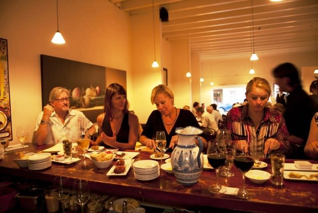 La Boca, an intimate Spanish tapas restaurant in the heart of downtown Santa Fe, is participating in Restaurant Week 2014. (Photo by Chico Goler, courtesy La Boca)