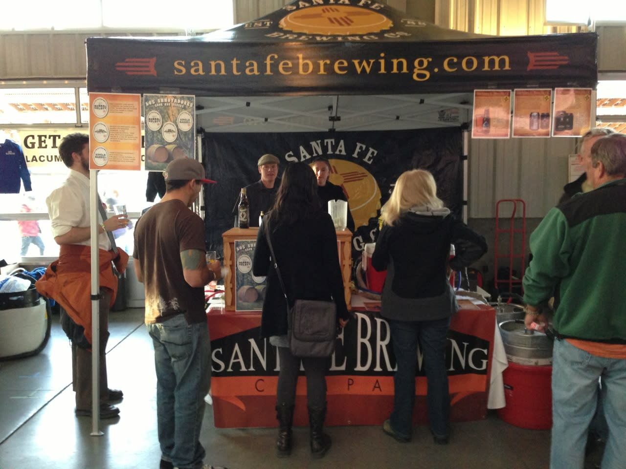 The brew will be fizzing up fresh from Santa Fe Brewing Company at WinterBrew 2014.