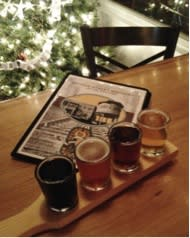 Let your fantasies take flight with a beer flight from Second Street Brewery