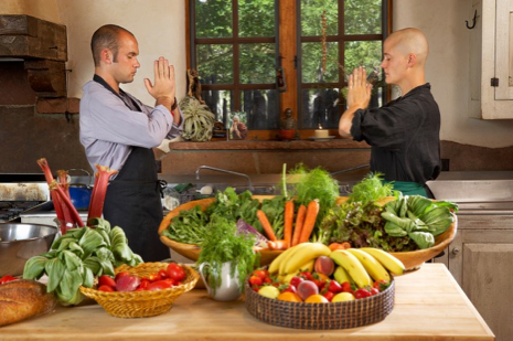 Spend some quality time with yourself at Upaya, which serves organic vegetarian meals. (Photo credit: Upaya Zen Center)