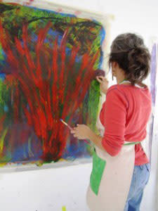 Break through your artistic barriers with Individual Intuitive Painting Lessons.