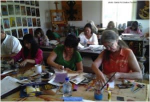 Hands-on workshops led by celebrated artists will shift your creativity into high gear. (All photos courtesy of Santa Fe Creative Tourism.)