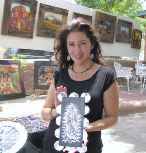Renowned artist Sharon Candelario will free the tinsmith within you.